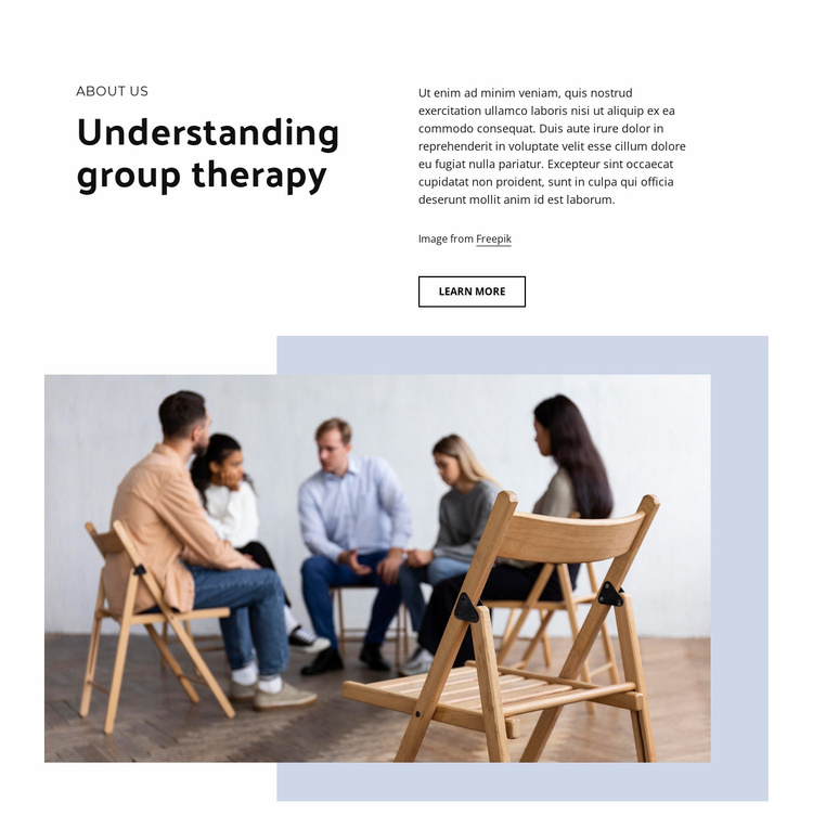 Helping clients communication skills Website Template