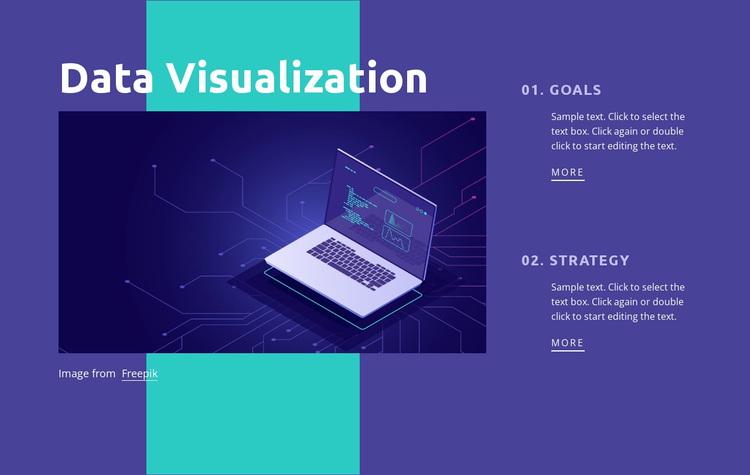 Data Center Networking Website Design