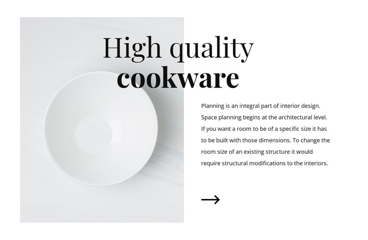 Beautiful dishes HTML Template