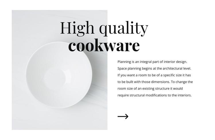 Beautiful dishes WordPress Theme
