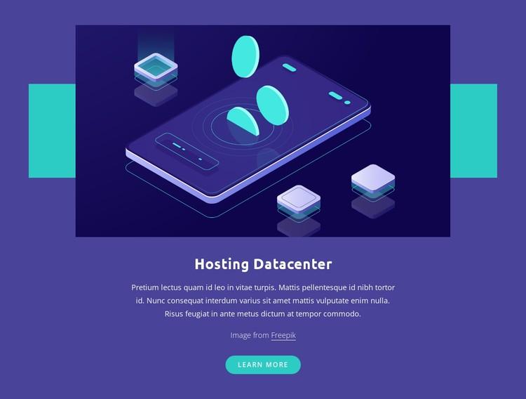 Hosting Datacenter CSS Template