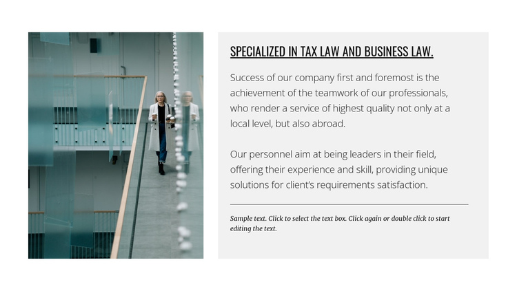 Legal consultation Website Builder Software