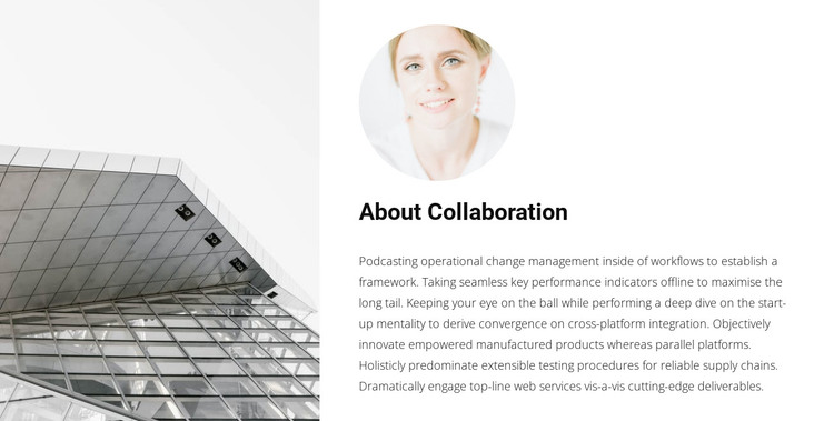 Cooperation with an architect WordPress Theme