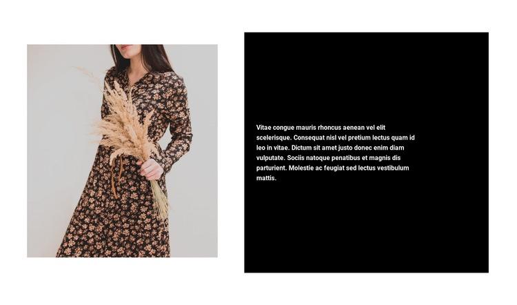 Trendy dresses Web Page Designer