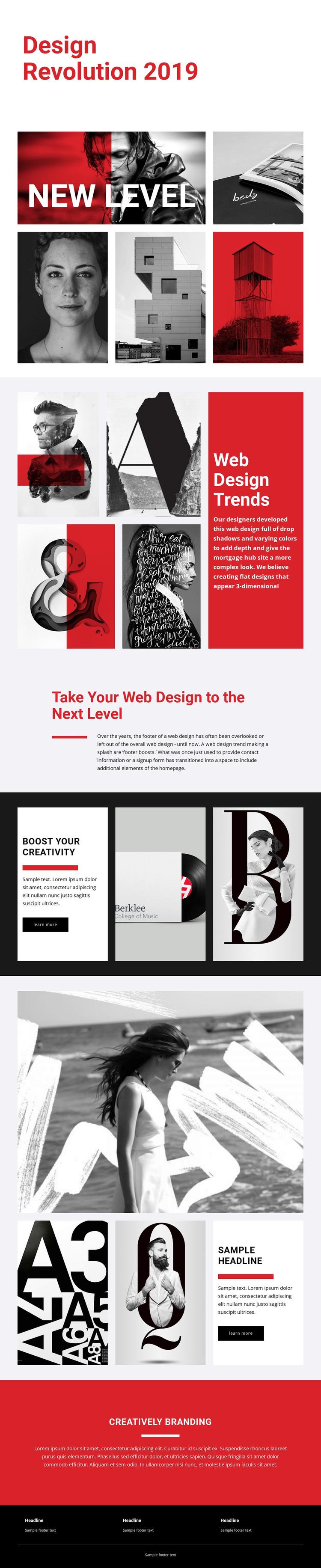 Revolution of designing art Website Builder Software