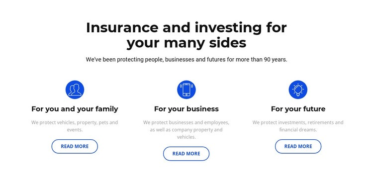 Insurance and investment Wysiwyg Editor Html