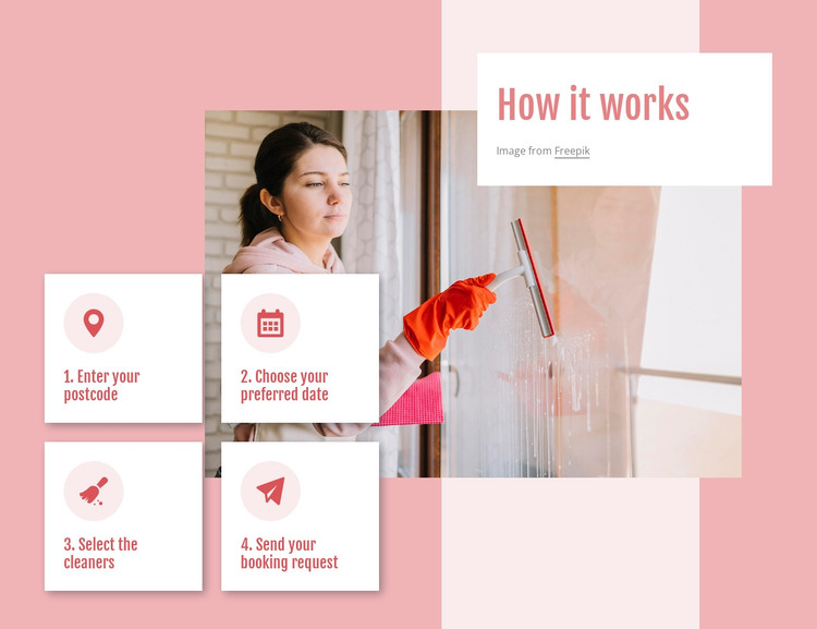 Our housecleaning services WordPress Theme