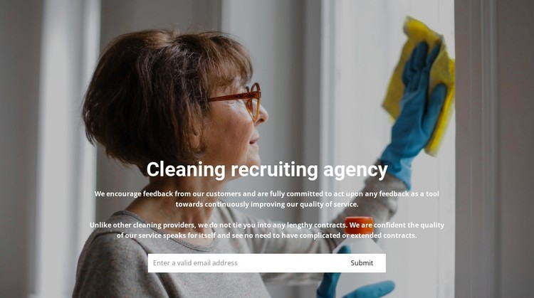 Staff recruitment for cleaning Static Site Generator