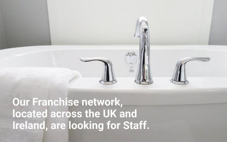Cleaning agency Website Mockup
