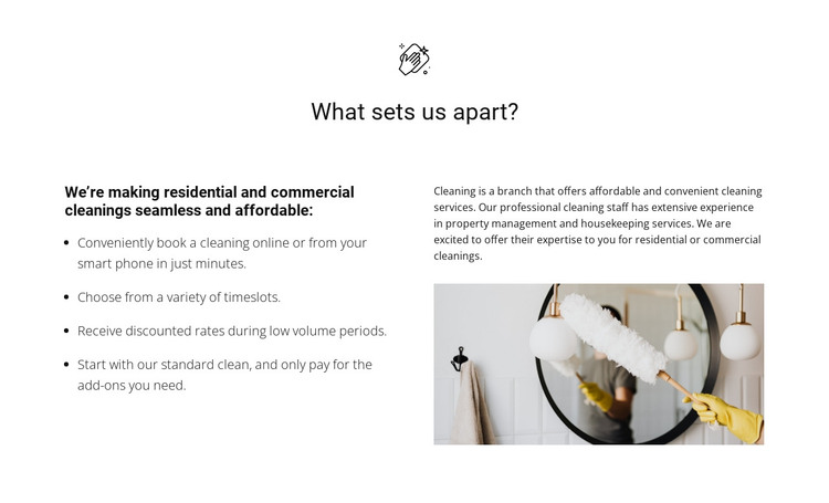 Cleaning of any complexity WordPress Theme