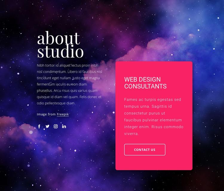 Web design consultants Html Website Builder