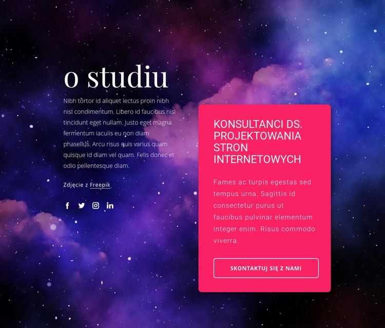 Konsultanci projektowania stron internetowych Szablon Joomla
