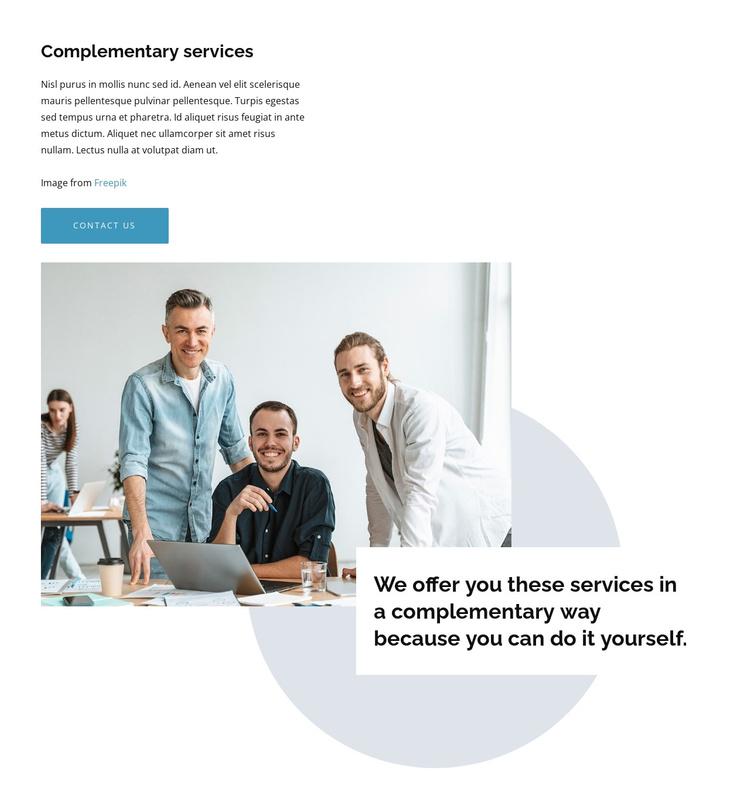 We create intuitive design Joomla Template