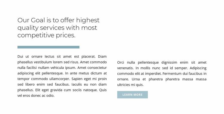 Your visual identity Website Design