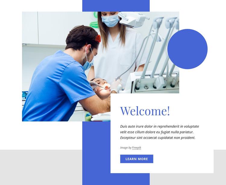 Welcome to ou dental center WordPress Theme