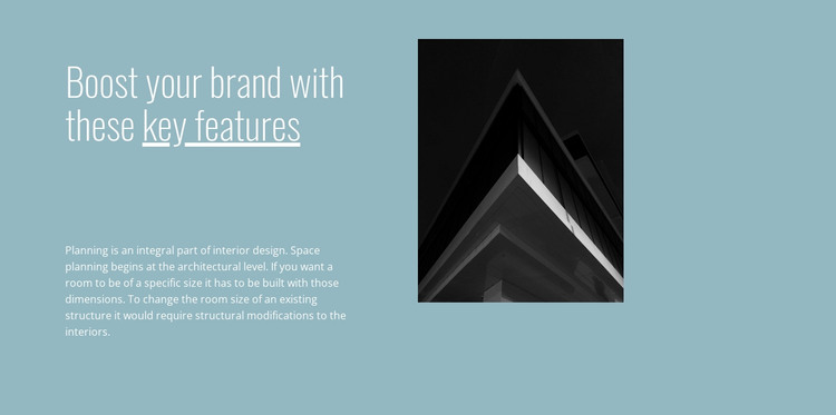 Boost your brand with us HTML Template