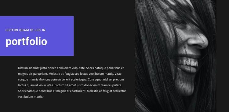 Artist's portfolio Static Site Generator