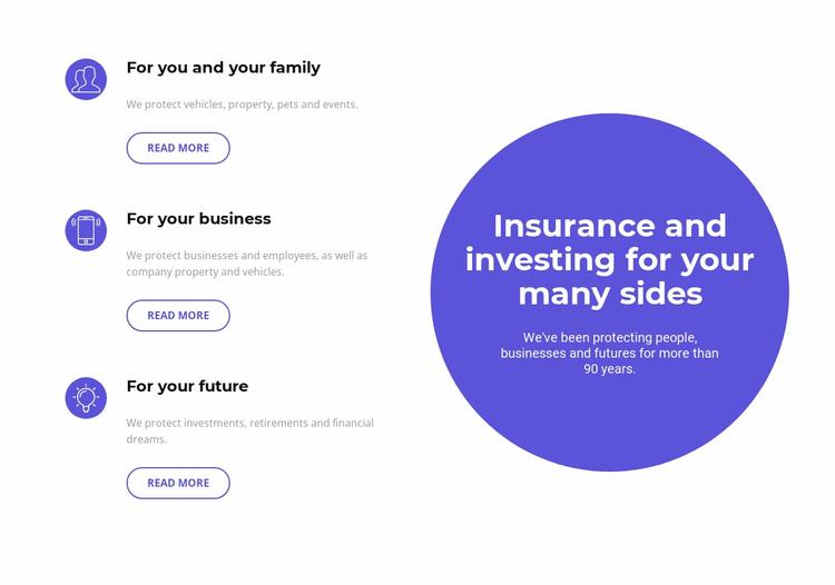 Investing in the future Website Design