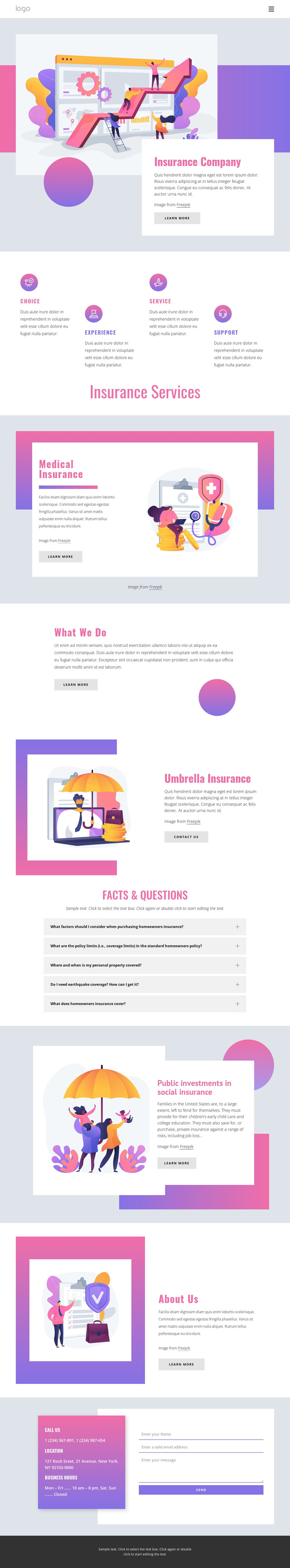 Your consultant for all business risks WordPress Theme
