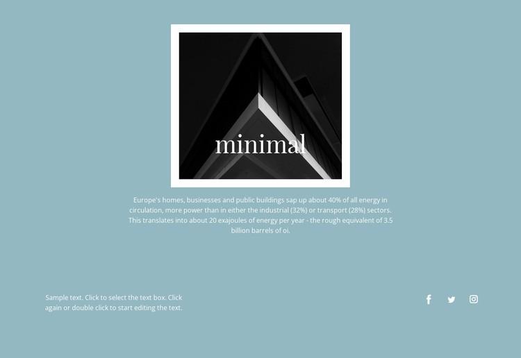 Minimal agency Static Site Generator