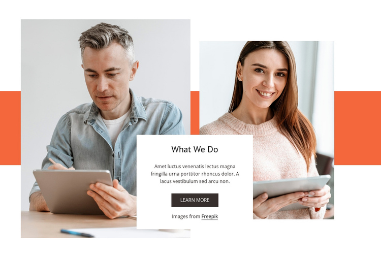 People and change Website Builder Software