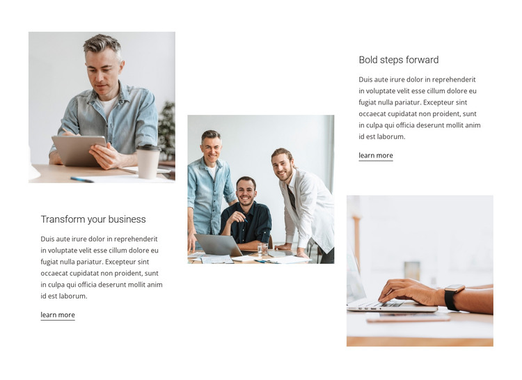 Passion for results WordPress Theme