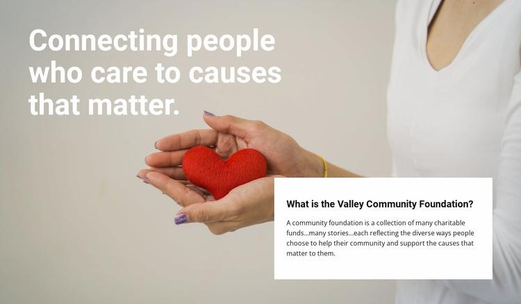 Charity is honest Website Template