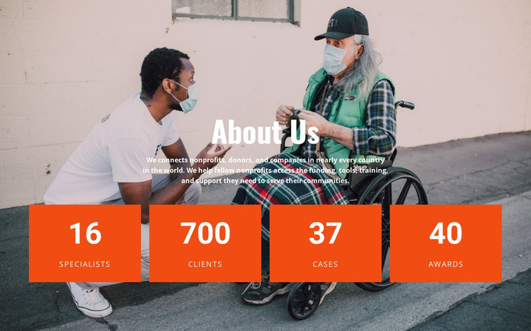 The victories of our hospice HTML Template