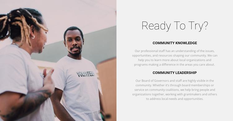 Our volunteers will help Website Builder Software