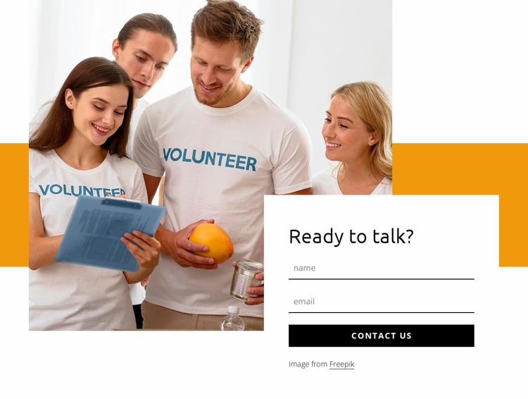 Contact info WordPress Website Builder