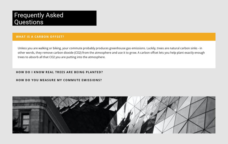 Most Popular Construction Questions HTML5 Template