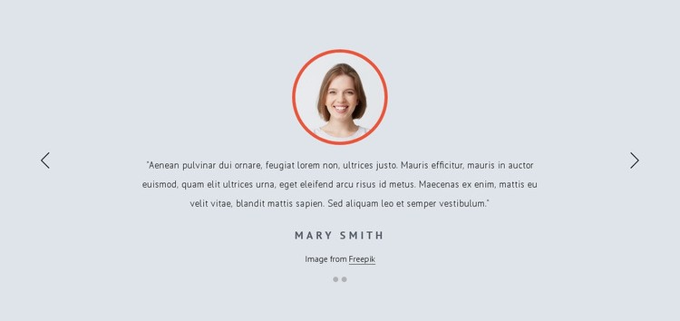 Customer feedbacks Website Creator