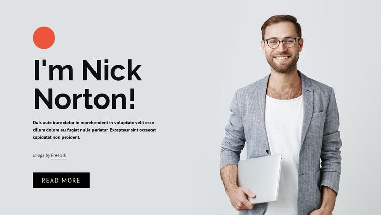 Freelance website developer Website Design