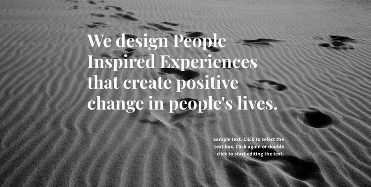 Inspiration for Better Design Web Page Design