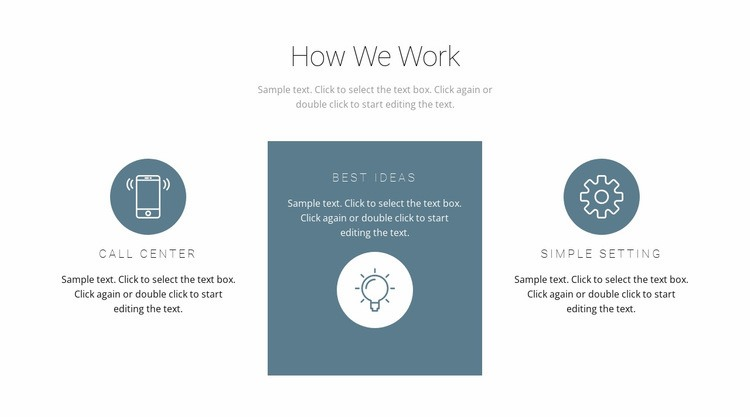 How the principle of work works Web Page Designer