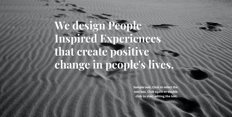Inspiration for Better Design Website Template