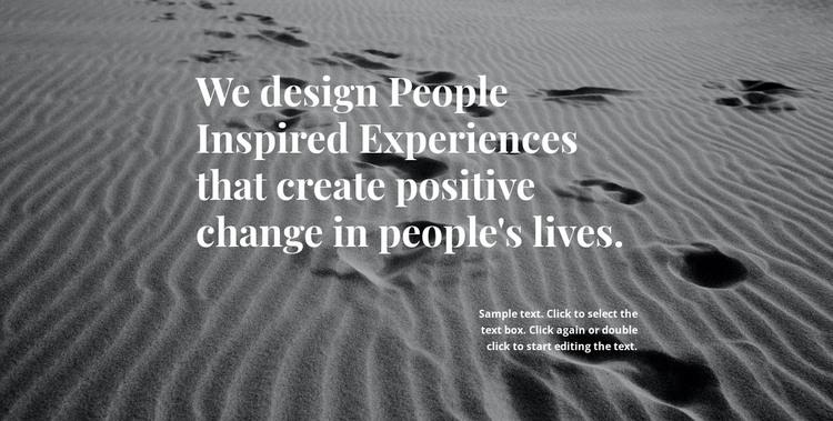 Inspiration for Better Design WordPress Theme