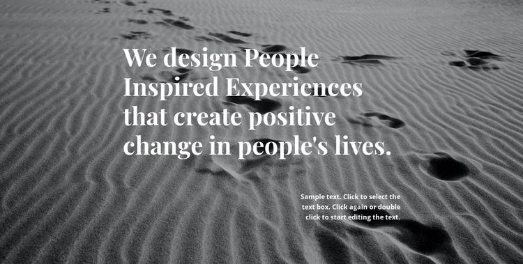 Inspiration for Better Design WordPress Website Builder