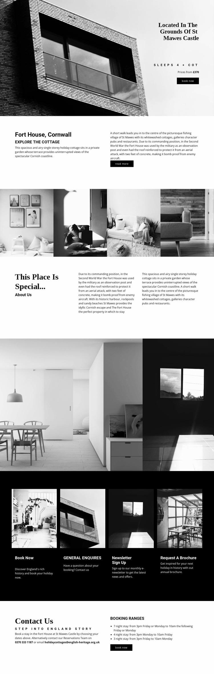 Global modern architecture Website Mockup