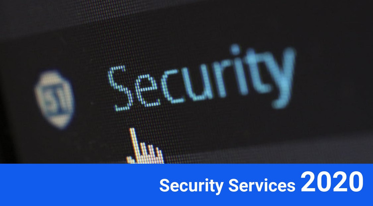 Security services 2020 HTML Template