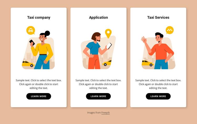 Book your transfer Web Design