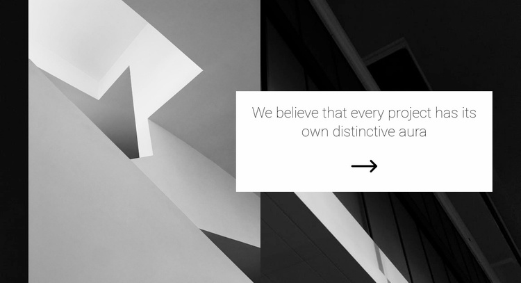 Minimalism in architecture Website Template