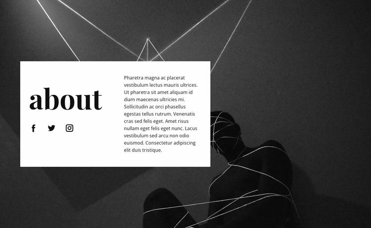 Art center Website Template