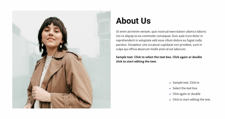 Meet and get started Website Template