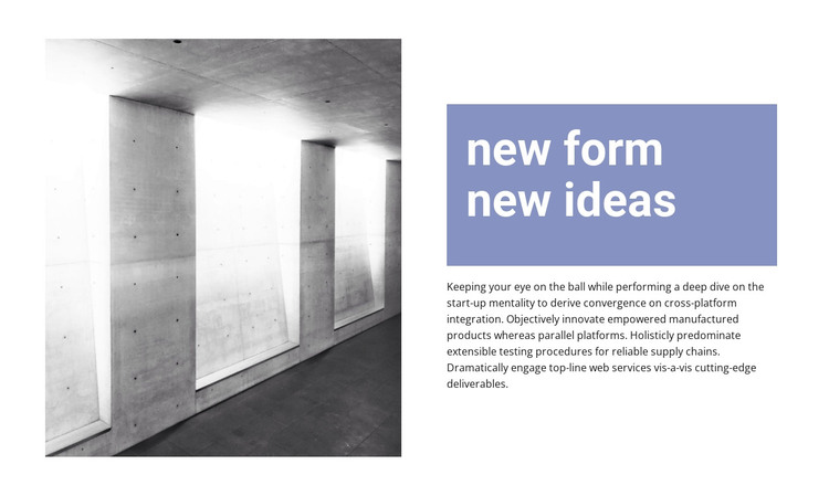 New ideas in construction WordPress Theme