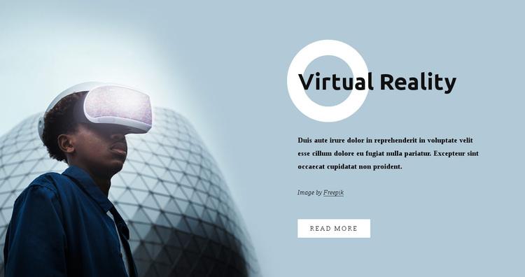 Virtual reality Joomla Page Builder