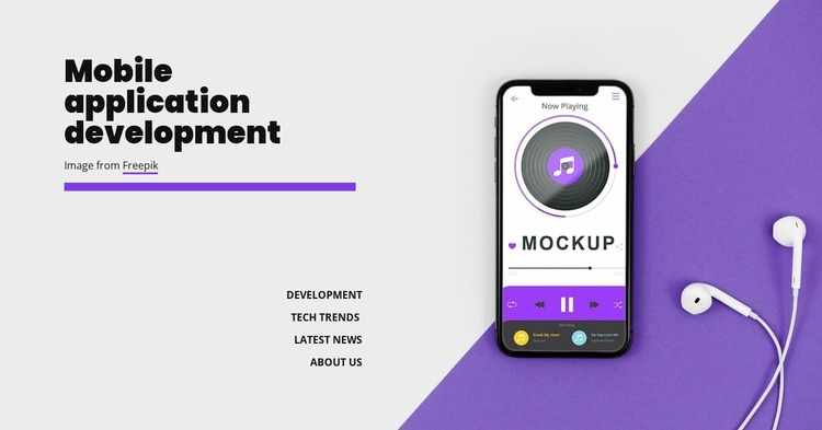 Mobole application development WordPress Website Builder