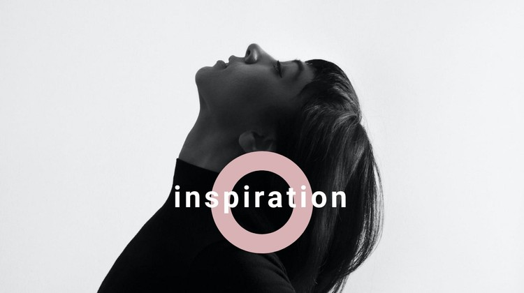 Find your inspiration CSS Template