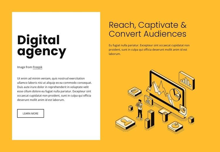 Digital marketing for growing brands Joomla Template