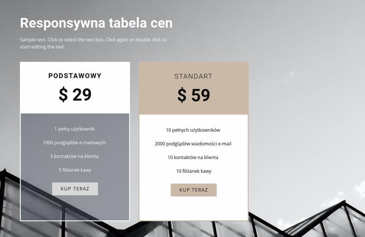 Cena prenumeraty magazynu Szablon Joomla